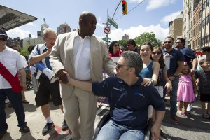 deputy mayor richard buery and mopd commissioner victor calisea - Disability Pride Parade Photo