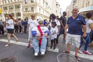 Marilyn saviola grand marshall - Disability Pride Parade Photo