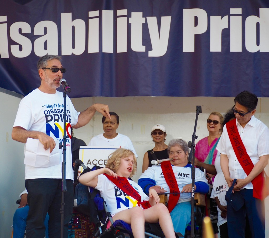 Mike and Mary - Disability Pride Parade Photo