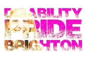 Disability Pride Brighton logo