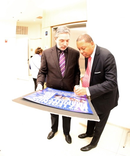 wynton marsalis and mike ledonne